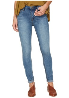Free People Gummy Denim High-Rise Roller Crop Jeans