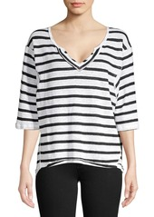 Free People Head In The Clouds Stripe Top