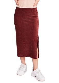 Free People Helen Rib Knit Skirt