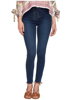 Free People High Lace Leggings - Indigo
