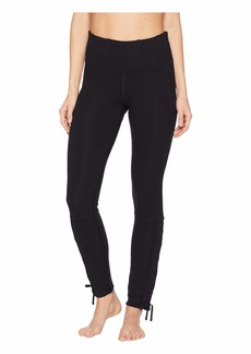 Free People High-Rise Full-Length Pixi Lace-Up Leggings