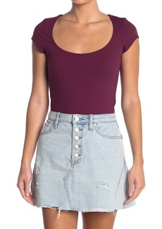 Free People In Her Power Scoop Neck T-Shirt