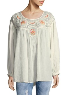 Free People Ivy Secret Garden Top