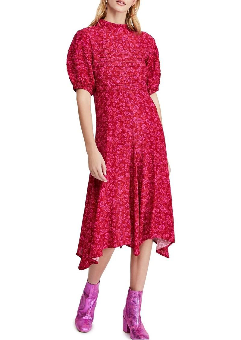 Free People Jessie Floral Midi Dress