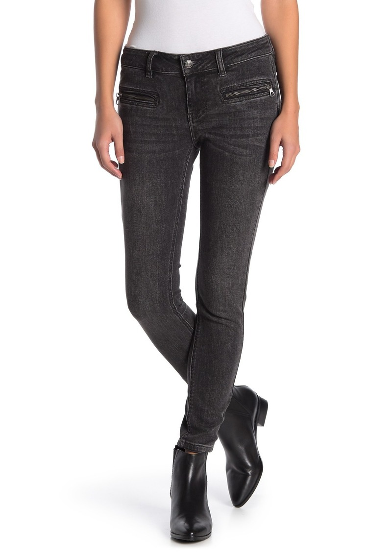 Free People Jet Low Rise Skinny Jeans