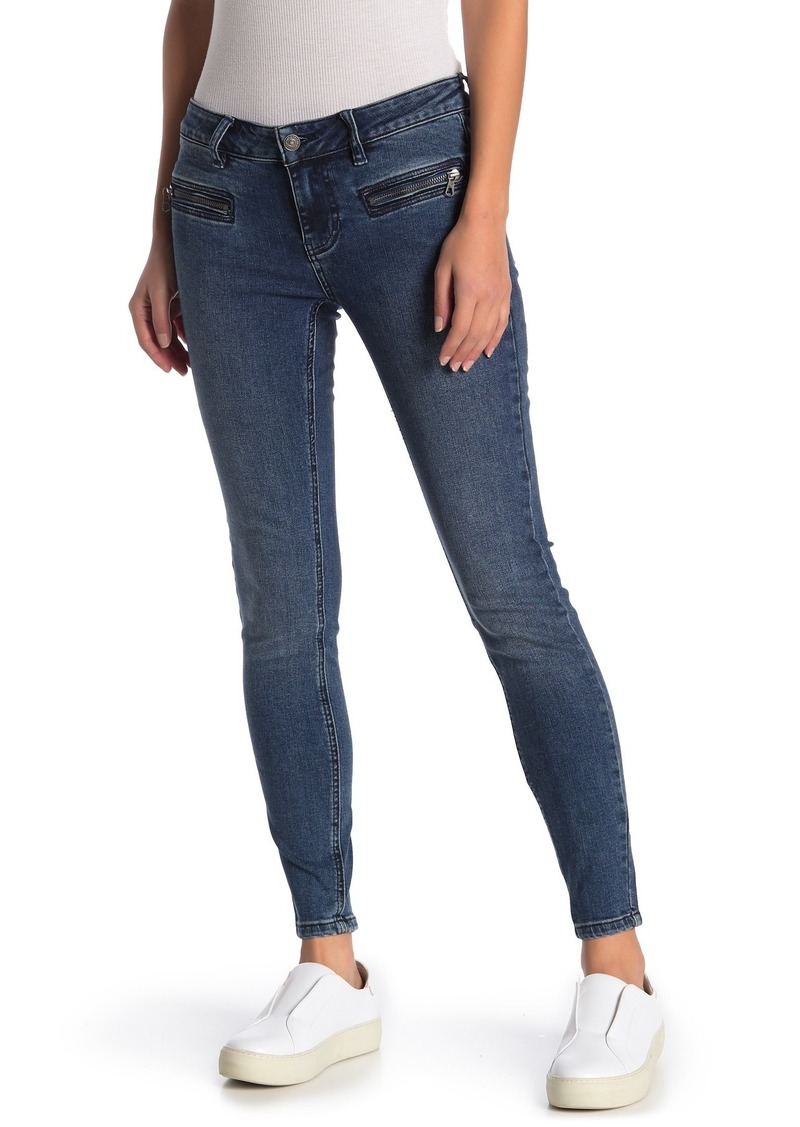 Free People Jet Low Rise Skinny Jeans