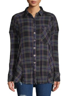 Free People Juniper Ridge Button-Down Shirt