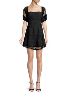 Free People Lace A-Line Dress
