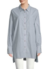 Free People Lake House Cotton Shirt
