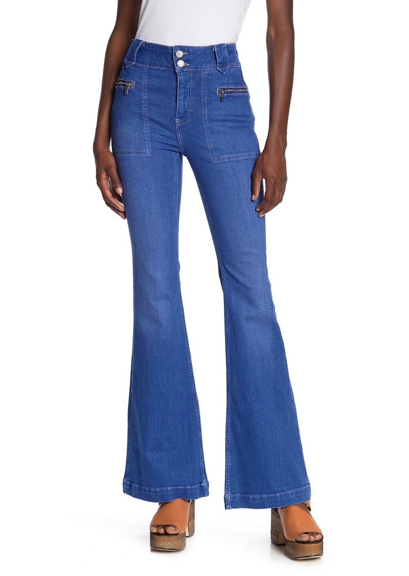 Free People Layla Flare Leg Jeans