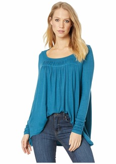 Free People Long Valley Long Sleeve Top