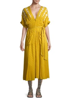 Free People Love To Love You Self-Tie Dress