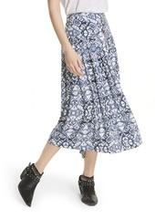 Free People Lovers Dream Midi Skirt