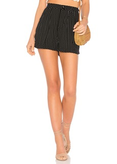 Free People Magdalene Pleated Short