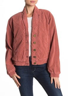 Free People Main Squeeze Quilted Jacket
