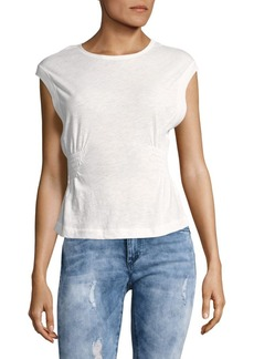 Free People May Side-Shirred Tank