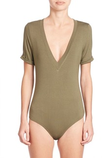 Free People Me Oh My V-Neck Bodysuit