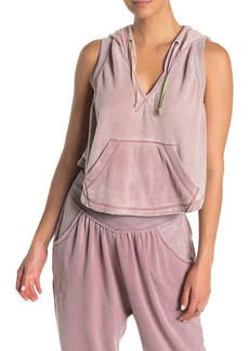 Free People Meadowbrook Sleeveless Hoodie