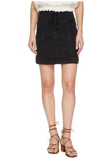 Free People Modern Femme Corset Mini Skirt