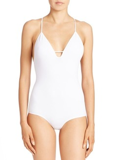 Free People Move Along Racerback Bodysuit