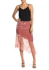 Free People My Lacey Velvet Midi Skirt