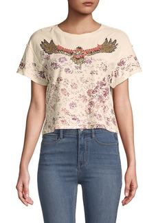 Free People Navigator Short-Sleeve Tee
