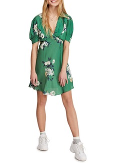 Free People Neon Garden Minidress