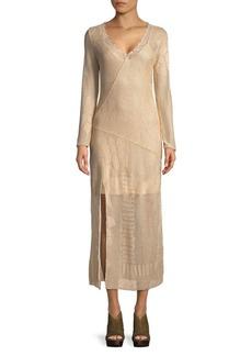 Free People Neutral Line This Midi Dress