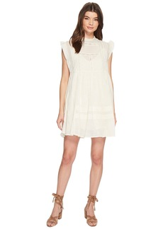 Free People Nobody Like You Embroidered Mini Dress