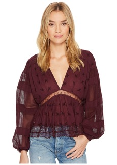 Free People Nostalgic Feels Top