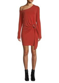 Free People Off-the-Shoulder Side Knot Dress