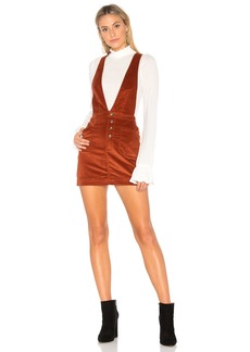 Old School Love Overall Dress