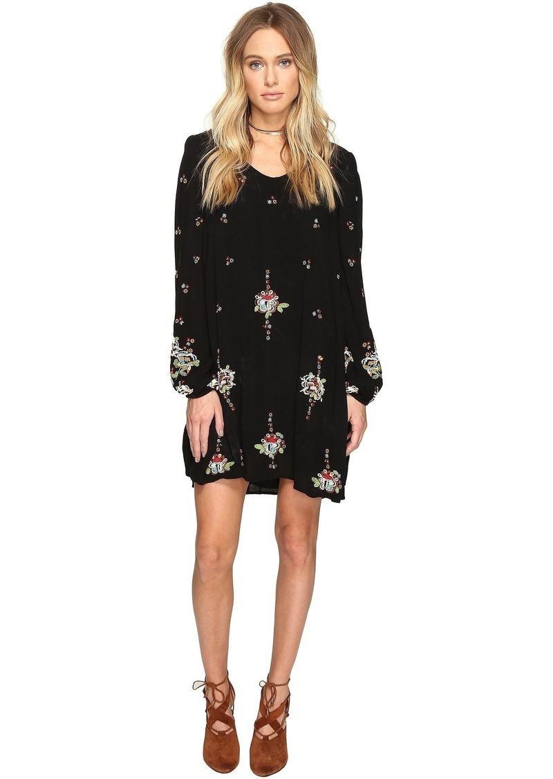 Free People Oxford Embroidered Mini