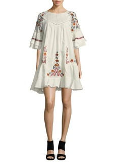 Free People Pavlo Embroidered Dress