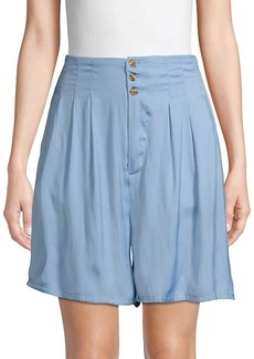 Free People Pleated Front Shorts