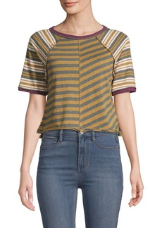 Free People Prepster Striped Tee