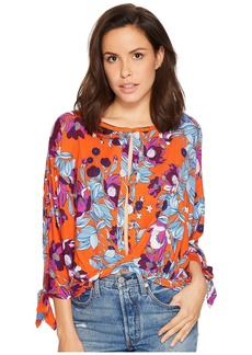 Free People Printed Keepin On Tee