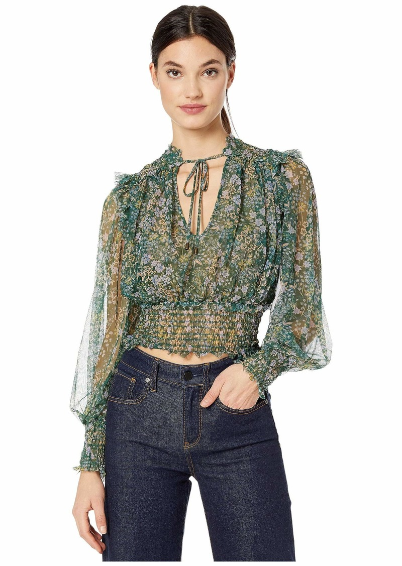 Free People Printed Twyla Top