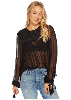 Free People Retro Femme Blouse