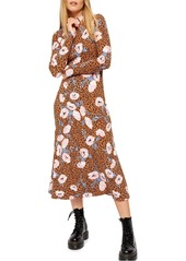 Free People Retro Romance Midi Dress