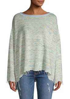 Free People Prism Pullover Spacedye Top