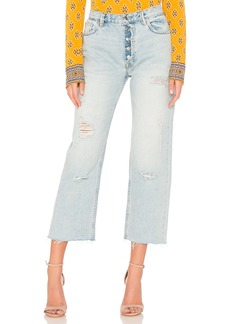 Free People Rolling On The River Straight Crop