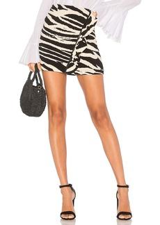 Free People Ruffle Babe Mini Skirt