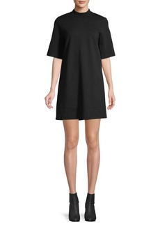 Free People Self-Tie T-Shirt Dress