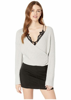 Free People Sensual Wrap Sweater