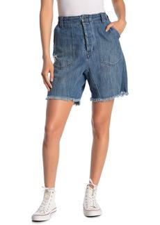 Free People She's A Legend Harem Shorts