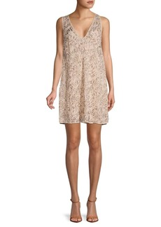 Free People Shine On Mini Shift Dress