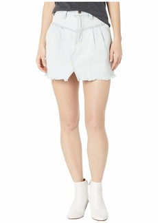 Free People Sidecar Mini Skirt