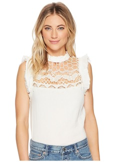 Free People Simply Smiles Crochet Top