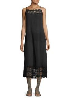 Free People Sky Abbie Lace Cotton Dress